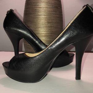 Michael Kors Platforms Leather Heels